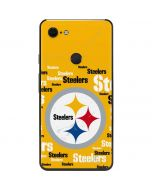 Pittsburgh Steelers Yellow Blast Google Pixel 3 XL Skin