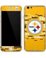 Pittsburgh Steelers Yellow Blast iPhone 6/6s Skin