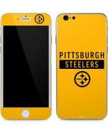 Pittsburgh Steelers Yellow Performance Series iPhone 6/6s Skin