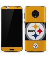 Pittsburgh Steelers Zone Block Moto G6 Skin