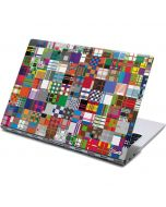 Plaid City Yoga 910 2-in-1 14in Touch-Screen Skin
