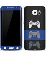 PlayStation Controller Evolution Galaxy S6 Edge Skin