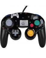 PlayStation Pattern Nintendo GameCube Controller Skin