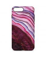 Plum Watercolor Geode iPhone 7 Plus Pro Case