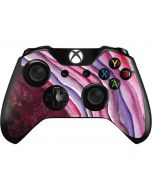 Plum Watercolor Geode Xbox One Controller Skin