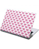 Plush Pink Hearts Yoga 910 2-in-1 14in Touch-Screen Skin