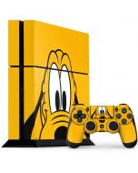 Pluto Up Close PS4 Console and Controller Bundle Skin