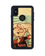 Popeye out at Sea iPhone XS Waterproof Case