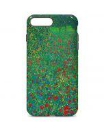 Poppy Field by Gustav Klimt iPhone 7 Plus Pro Case