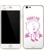 Porky Pig Big Head iPhone 6/6s Skin