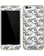 Porky Pig Black and White iPhone 6/6s Skin