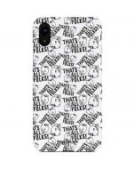 Porky Pig Black and White iPhone XR Lite Case