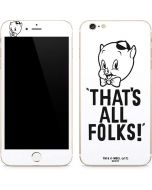 Porky Thats All Folks Grid iPhone 6/6s Plus Skin