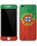 Portugal Flag Distressed iPhone 6/6s Skin