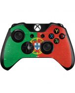 Portugal Flag Distressed Xbox One Controller Skin