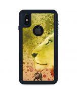 Profile of the Lion of Judah iPhone X Waterproof Case