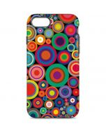 Psychedelic Circles iPhone 8 Pro Case