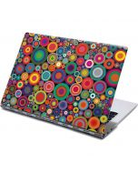 Psychedelic Circles Yoga 910 2-in-1 14in Touch-Screen Skin