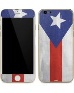 Puerto Rico Flag Distressed iPhone 6/6s Skin