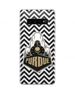 Purdue Chevron Galaxy S10 Plus Skin