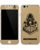 Purdue Gold Signature Logo iPhone 6/6s Skin