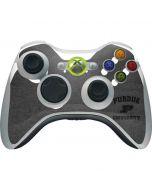 Purdue Grey Logo Xbox 360 Wireless Controller Skin