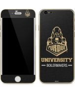 Purdue University Boilermakers Signature Logo iPhone 6/6s Skin