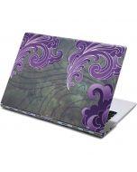 Purple Flourish Yoga 910 2-in-1 14in Touch-Screen Skin