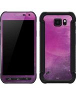 Purple Space Marble Galaxy S6 Active Skin