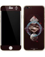 Purple Superman Collage iPhone 6/6s Skin