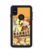 Rabbit Seasoning iPhone XS Waterproof Case