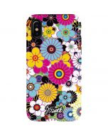 Rainbow Flowerbed iPhone X Pro Case