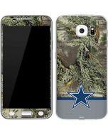 Realtree Camo Dallas Cowboys Galaxy S6 Skin