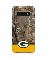 Realtree Camo Green Bay Packers Galaxy S10 Plus Lite Case