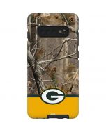 Realtree Camo Green Bay Packers Galaxy S10 Plus Pro Case