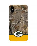 Realtree Camo Green Bay Packers iPhone XS Max Lite Case