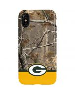 Realtree Camo Green Bay Packers iPhone XS Max Pro Case