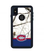 Realtree Camo Montreal Canadiens iPhone XS Waterproof Case