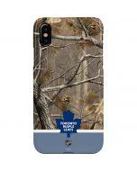 Realtree Camo Toronto Maple Leafs iPhone XS Max Lite Case