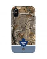 Realtree Camo Toronto Maple Leafs iPhone XS Pro Case