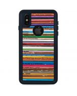 Records iPhone X Waterproof Case