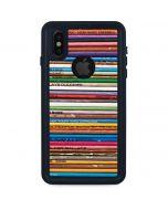 Records iPhone XS Waterproof Case