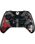 Red and Black Spider-Man Xbox One Controller Skin