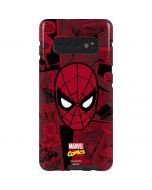 Red Spider-Man Comics Galaxy S10 Plus Pro Case