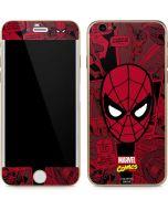 Red Spider-Man Comics iPhone 6/6s Skin