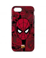 Red Spider-Man Comics iPhone 8 Pro Case
