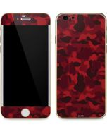 Red Street Camo iPhone 6/6s Skin
