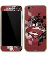Red Superman Pattern iPhone 6/6s Skin