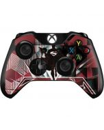 Red Superman Pattern Xbox One Controller Skin