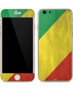 Republic of the Congo Flag Distressed iPhone 6/6s Skin
